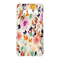 Vector Floral Art Samsung Galaxy A5 Hardshell Case  by Amaryn4rt