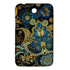 Retro Ethnic Background Pattern Vector Samsung Galaxy Tab 3 (7 ) P3200 Hardshell Case  by Amaryn4rt