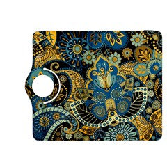 Retro Ethnic Background Pattern Vector Kindle Fire Hdx 8 9  Flip 360 Case