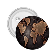 Grunge Map Of Earth 2.25  Buttons