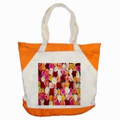 Rose Color Beautiful Flowers Accent Tote Bag by Amaryn4rt