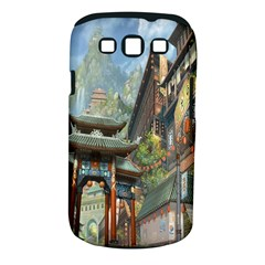 Japanese Art Painting Fantasy Samsung Galaxy S Iii Classic Hardshell Case (pc+silicone) by Amaryn4rt