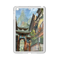 Japanese Art Painting Fantasy Ipad Mini 2 Enamel Coated Cases by Amaryn4rt