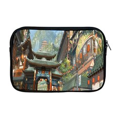 Japanese Art Painting Fantasy Apple Macbook Pro 17  Zipper Case by Amaryn4rt
