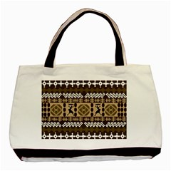 African Vector Patterns Basic Tote Bag by Amaryn4rt