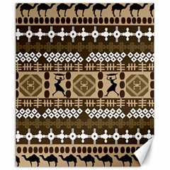 African Vector Patterns Canvas 20  X 24   by Amaryn4rt