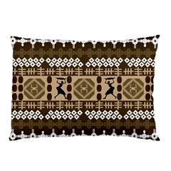 African Vector Patterns Pillow Case