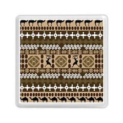 African Vector Patterns Memory Card Reader (square)  by Amaryn4rt