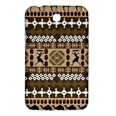 African Vector Patterns Samsung Galaxy Tab 3 (7 ) P3200 Hardshell Case  by Amaryn4rt
