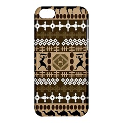 African Vector Patterns Apple Iphone 5c Hardshell Case