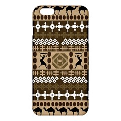 African Vector Patterns Iphone 6 Plus/6s Plus Tpu Case by Amaryn4rt