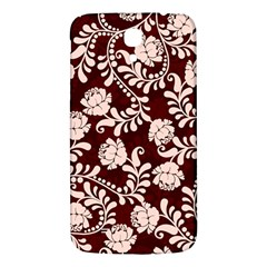 Flower Leaf Pink Brown Floral Samsung Galaxy Mega I9200 Hardshell Back Case