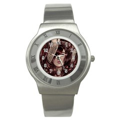 Beautiful Women Fantasy Art Stainless Steel Watch by Amaryn4rt