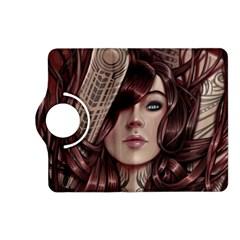 Beautiful Women Fantasy Art Kindle Fire Hd (2013) Flip 360 Case by Amaryn4rt