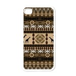 African Vector Patterns  Apple iPhone 4 Case (White) Front