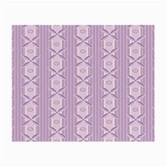 Flower Star Purple Small Glasses Cloth by Alisyart