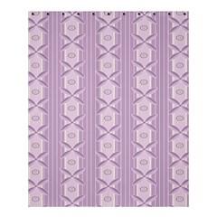 Flower Star Purple Shower Curtain 60  X 72  (medium)  by Alisyart