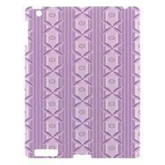 Flower Star Purple Apple Ipad 3/4 Hardshell Case by Alisyart