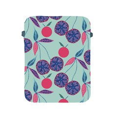 Passion Fruit Pink Purple Cerry Blue Leaf Apple Ipad 2/3/4 Protective Soft Cases by Alisyart