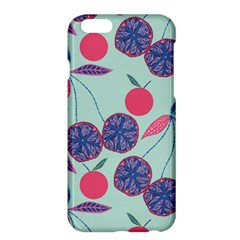 Passion Fruit Pink Purple Cerry Blue Leaf Apple Iphone 6 Plus/6s Plus Hardshell Case by Alisyart