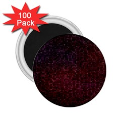 3d Tiny Dots Pattern Texture 2 25  Magnets (100 Pack)  by Amaryn4rt