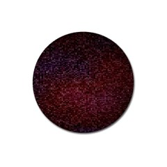 3d Tiny Dots Pattern Texture Magnet 3  (round) by Amaryn4rt