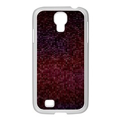 3d Tiny Dots Pattern Texture Samsung Galaxy S4 I9500/ I9505 Case (white) by Amaryn4rt