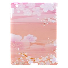 Season Flower Floral Pink Apple Ipad 3/4 Hardshell Case (compatible With Smart Cover) by Alisyart