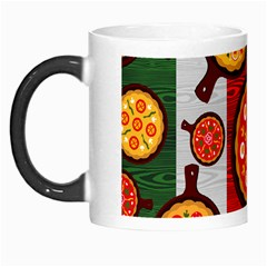 Pizza Italia Beef Flag Morph Mugs