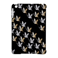 Goose Swan Gold White Black Fly Apple Ipad Mini Hardshell Case (compatible With Smart Cover) by Alisyart