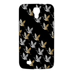 Goose Swan Gold White Black Fly Samsung Galaxy Mega 6 3  I9200 Hardshell Case by Alisyart