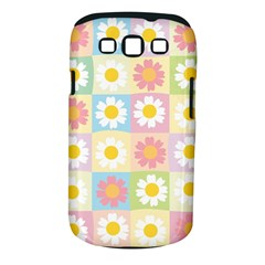 Season Flower Sunflower Blue Yellow Purple Pink Samsung Galaxy S Iii Classic Hardshell Case (pc+silicone)