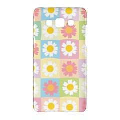 Season Flower Sunflower Blue Yellow Purple Pink Samsung Galaxy A5 Hardshell Case  by Alisyart