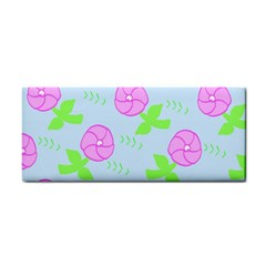 Spring Flower Tulip Floral Leaf Green Pink Cosmetic Storage Cases by Alisyart