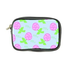 Spring Flower Tulip Floral Leaf Green Pink Coin Purse by Alisyart