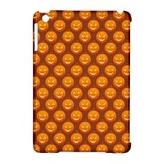 Pumpkin Face Mask Sinister Helloween Orange Apple Ipad Mini Hardshell Case (compatible With Smart Cover) by Alisyart