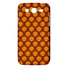 Pumpkin Face Mask Sinister Helloween Orange Samsung Galaxy Mega 5 8 I9152 Hardshell Case  by Alisyart
