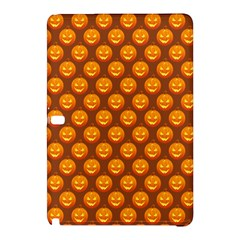 Pumpkin Face Mask Sinister Helloween Orange Samsung Galaxy Tab Pro 10 1 Hardshell Case by Alisyart