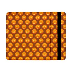 Pumpkin Face Mask Sinister Helloween Orange Samsung Galaxy Tab Pro 8 4  Flip Case by Alisyart