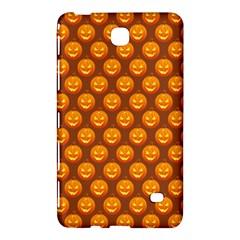 Pumpkin Face Mask Sinister Helloween Orange Samsung Galaxy Tab 4 (7 ) Hardshell Case  by Alisyart