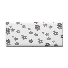 Flower Grey Jpeg Cosmetic Storage Cases