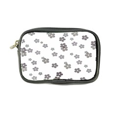 Flower Grey Jpeg Coin Purse