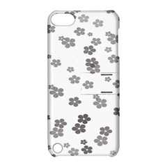 Flower Grey Jpeg Apple Ipod Touch 5 Hardshell Case With Stand by Alisyart
