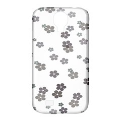 Flower Grey Jpeg Samsung Galaxy S4 Classic Hardshell Case (pc+silicone) by Alisyart