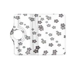 Flower Grey Jpeg Kindle Fire Hd (2013) Flip 360 Case by Alisyart