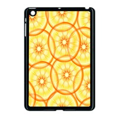 Lemons Orange Lime Circle Star Yellow Apple Ipad Mini Case (black) by Alisyart