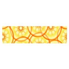 Lemons Orange Lime Circle Star Yellow Satin Scarf (oblong) by Alisyart