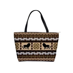 African Vector Patterns  Shoulder Handbags by Amaryn4rt