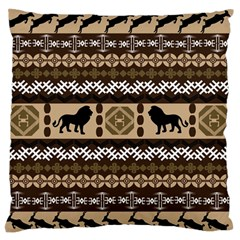 African Vector Patterns  Standard Flano Cushion Case (two Sides) by Amaryn4rt