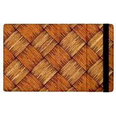 Vector Square Texture Pattern Apple Ipad 2 Flip Case by Amaryn4rt